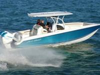 POWERED BY TWIN 300HP VERADO'S MAKES 65MPH A BREEZE IN