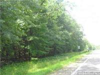 Build your dream home on this heavily wooded, high lot.