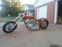 Up for sale is a 2011 Custom Chopper. Ultima 113cu El
