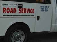We are providing 24/7 roadside assistance:  Jump start