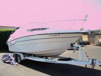 HARD TO FIND 25' CABIN CRUISER WITH A/C! Comes with 5.7