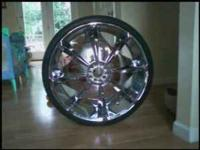nice rims with tires. 275/25R24. $1400 call or text .