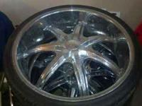 "24"" u2 35'S WITH TIRES NEED GONE SOON 255/30-R24 5x114"