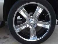 Rims for sale asking $900.00OBO. For more informacion