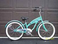 "24"" Beach Cruiser bike that was bought brand new a few"