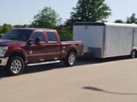 2010 Dragster Auto Carrier Enclosed Trailer - 8.5 by 24
