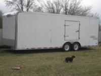 09 Haulmark car hauler 8.5*24 enclosed car hauler