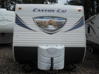 2013-24ft.(model 24FBC) Palomino Canyon Cat Travel