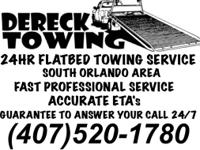 24HR Flatbed Towing show contact info Low Flat Rates
