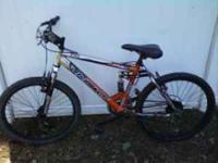 24in next mountain bike for sale. Call/text . Thanks,