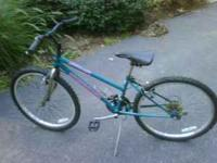Looking to sell a 24in girls mountain bike made by