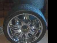 Incubus rims with tires 6lug but have 5 lug adapters