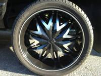 24'' RIMS FOR SALE!!!!!  5 LUG, asking price $1,600 or