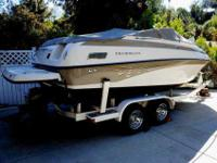 2003 Crownline 216 CCR 140 Low Hours Great family