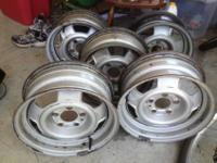 I have five 14 inch steel wheels for Volvo 240.