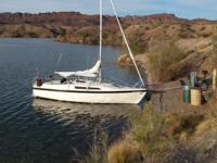 Kindly call boat owner Phil at . Swing keel, water