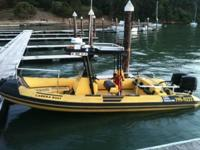 Please call owner Rick at . Boat is in San Francisco,