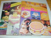 I have for sale 3 rare vintage Wilton Yearbooks of cake