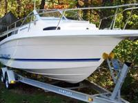 This 22? Wellcraft 220 Coastal Cuddy is located in