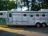 99 4 star 3 horse living quarters with mid tack,