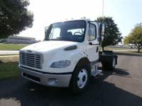 2006 Freightliner M two single axle tractor. Mileage is
