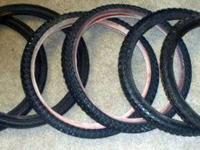 I have 6- - 20 in bicycle tires in terrific