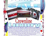 2008 Crownline 19'CROWNLINE TOP OF THE LINE COMPARES BY