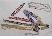 Assorted Beaded Headbands and Beadwork. Some hand