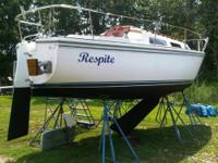 Call Boat owner James . Well maintained 1985 Catalina
