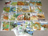 16 DINOSAUR BOOKS from CHILD'S WORLD. Mankato, MN. The