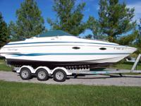 25' CHRIS CRAFT CONCEPT CUDDY FRESHWATER BOAT VOLVO 350