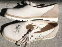 3928439594c3 Olympia Washington Clothes 25  . I am offering a pair of German linen suede  shoes. The