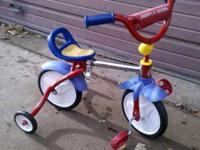 This is a great bike! This trike grows with you child,
