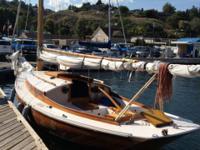 25' Friendship sloop, launched in 2004. Cedar strip