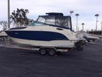Boat is a 2012 and the trailer is a 2013. 75 hrs on the
