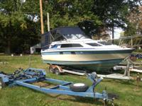 Nice boat for a good price. Has 260 mercruiser that