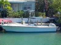 25'9 - 1979 Mako Boat for sale. Comes with tuna tower