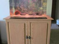 This SeaClear fish tank is a beautiful 25 gallon