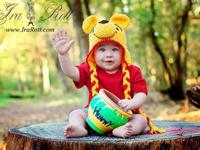 1500+ images of my original Animal hats for all ages.