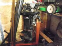 25 HP motor is in outstanding shape, kept inside, motor