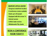 Newport Office Center offers conference room rentals by