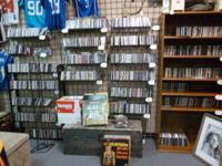 Come check out our large selection of movies and music!