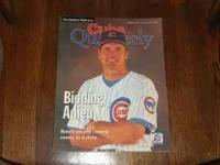 For sale is an AUTHENTIC SIGNED 1997 Chicago Cubs