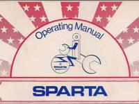 SPARTA MOPED OWNER'S MANUAL LOTS OF USEFUL INFORMATION