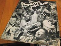1939 Swing Photo Album by Timme Rosenkrantz. Some