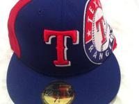 Brand new Texas ranger hat 7 1/8 selling it cause it