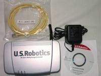U.S. Robotics Extender or repeater will work with