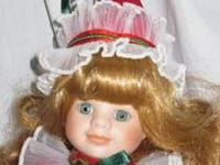 Beth is a porcelain clown doll from the Victoria Ashlea