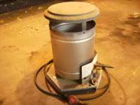 Propane heater for sale, hose and regulator included,