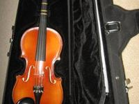 We rented this violin for a year and ended up buying it